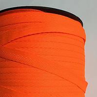 Тесьма киперная 10мм цв оранжевый неон (боб 250м) New Star