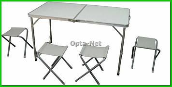 Раскладной стол  4 стульчика