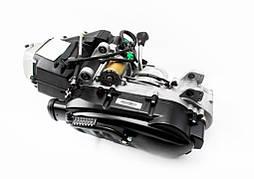Двигатель квадроцикла (вариаторный) с редуктором задней передачи в сборе 185cc