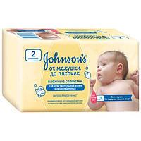 Johnson's Baby салфетки влажные детские От макушки до пяточек 112 шт