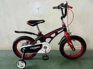 "Дитячий велосипед Crosser Space 14"" чорний, фото 2"