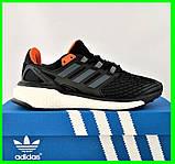 Кроссовки Adidas Energy Boost Чёрные Мужские Адидас (размеры: 41,42,44,45) Видео Обзор, фото 2