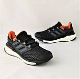 Кроссовки Adidas Energy Boost Чёрные Мужские Адидас (размеры: 41,42,44,45) Видео Обзор, фото 8
