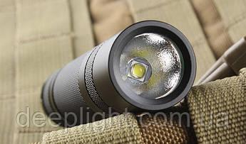 Тактический фонарь Convoy S2+ XM-L2 10W 3200К (Жёлтый свет)
