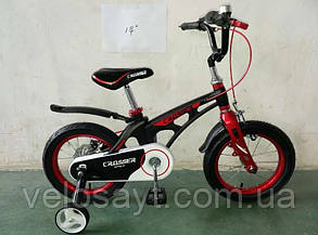 """Детский велосипед Crosser  Space 14"""" белый, фото 2"""