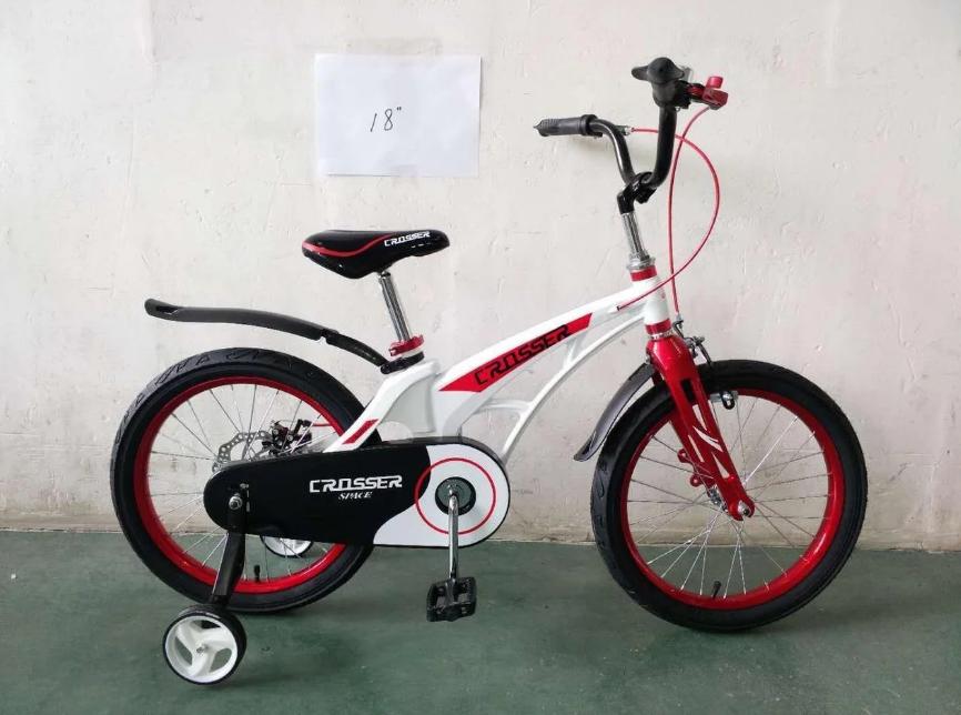 """Детский велосипед Crosser  Space 14"""" белый"""