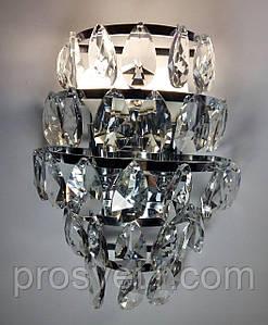 Настенный светильник с выключателем (W338-190 CR Melody)