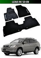 Коврики Lexus RX '03-08. Текстильные автоковрики Лексус РХ, фото 1