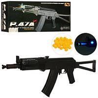 Пневматический Автомат AK-47 c пpиклaдoм Cyma P47A с фонариком и прицелом Т