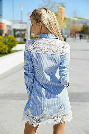 Сукня вставки мереживо 20/9052, фото 2