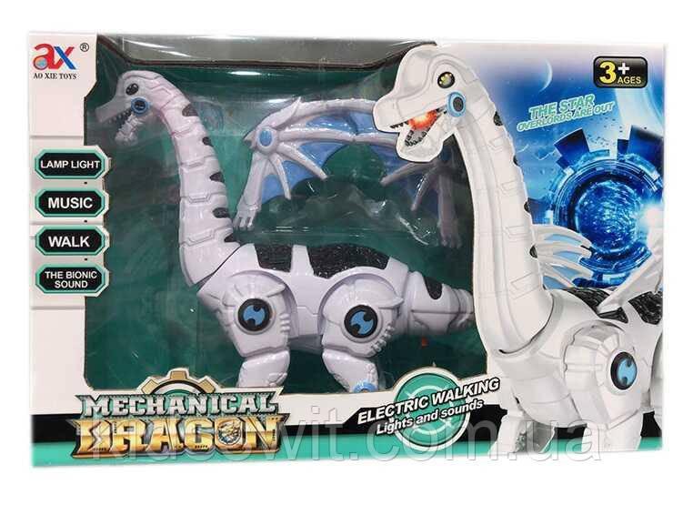 Робот-Динозавр, світло, звук, ходить, рухає шиєю, гарчить, 845 B