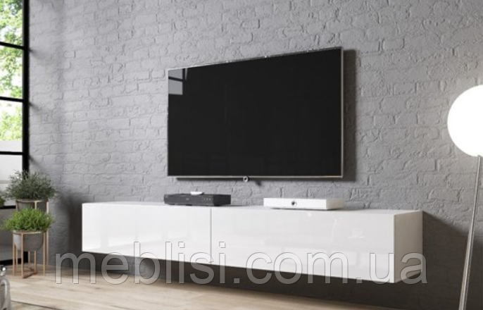 ТВ тумба SLIDE  200 белый (CAMA)