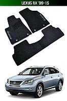Коврики Lexus RX '09-15. Текстильные автоковрики Лексус РХ