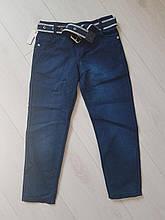 Тонкий джинс-коттон для мальчика подросток р. 10-13 лет опт