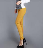 Стильные облегающие брюки лосины, L - XXL, фото 2