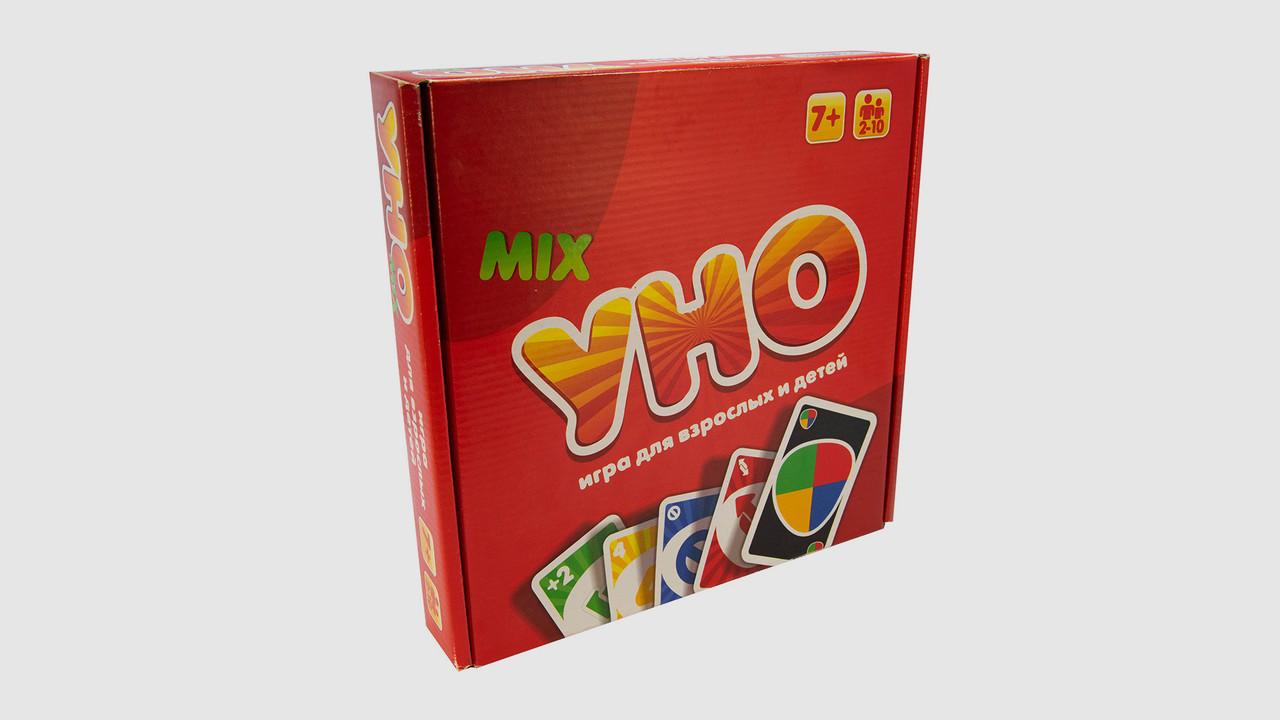 Настольная игра УНО люкс 2 в1 STRATEG 40256.