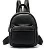 Рюкзак компактный женский Vintage 20053 Черный, фото 2