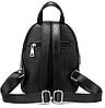 Рюкзак компактный женский Vintage 20053 Черный, фото 3