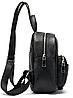 Рюкзак компактный женский Vintage 20053 Черный, фото 4