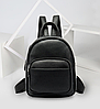 Рюкзак компактный женский Vintage 20053 Черный, фото 10