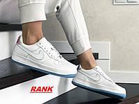 Кроссовки женские Nike Air Force 1  в стиле Найк Аир Форс 1, белые