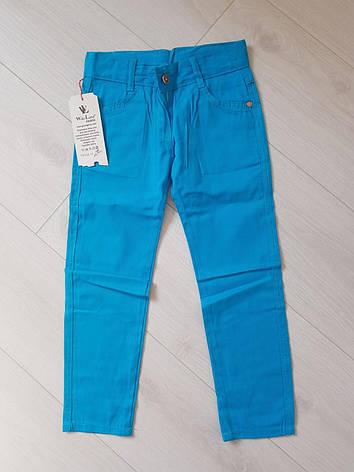 Тонкий джинс-коттон для мальчика подросток р. 8-12 лет опт, фото 2