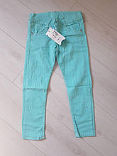 Тонкий джинс-коттон для девочки р. 8-12 лет