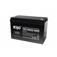 Аккумуляторная батарея Kijo JDG 12V 100Ah GEL (100Ачас/12В)