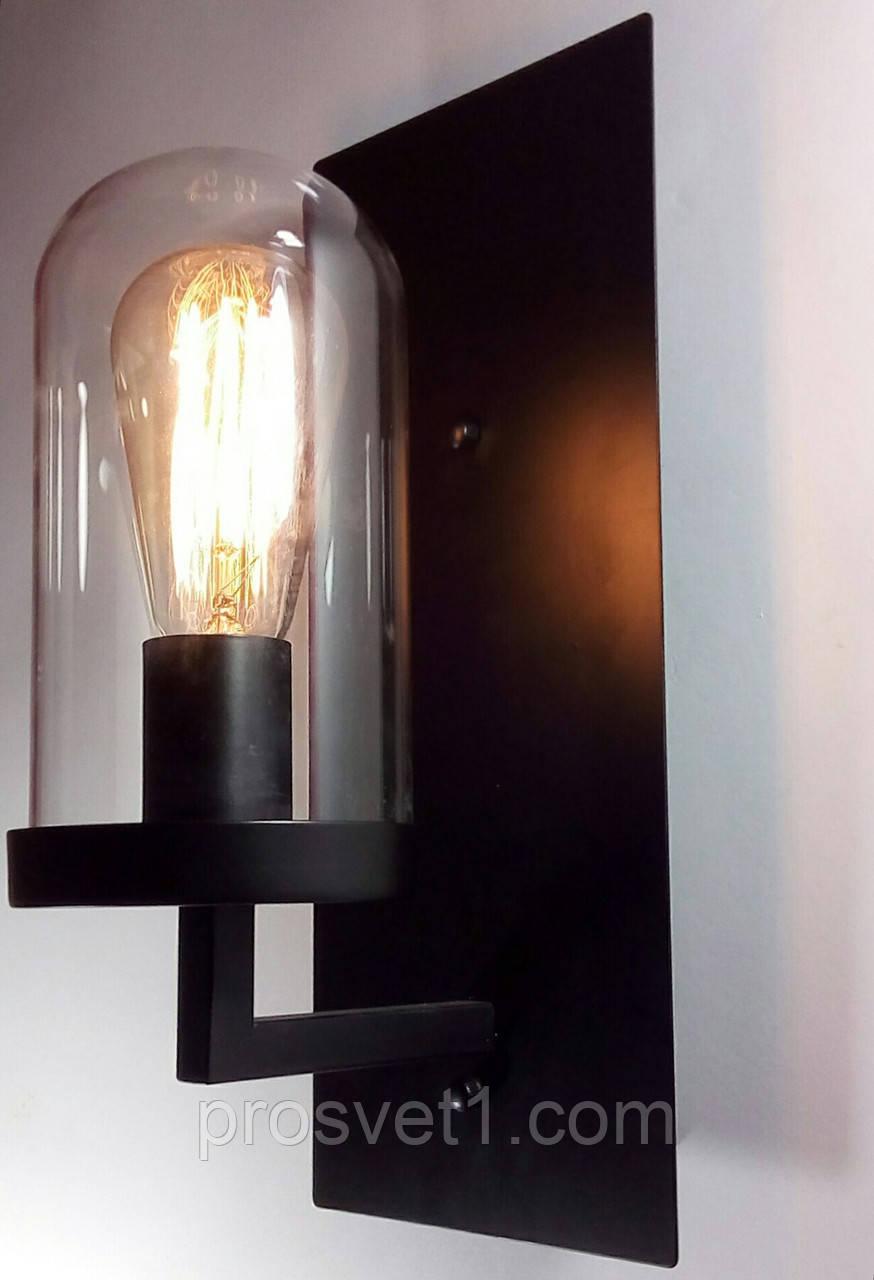 Светильник бра в стиле Loft (WM-B1025 ST64 черный 15*35 cm Melody)