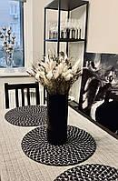 Черная ваза цилиндр.Черная ваза тубус. Ваза из черного стекла. Black glass. h - 300мм, d - 160 мм