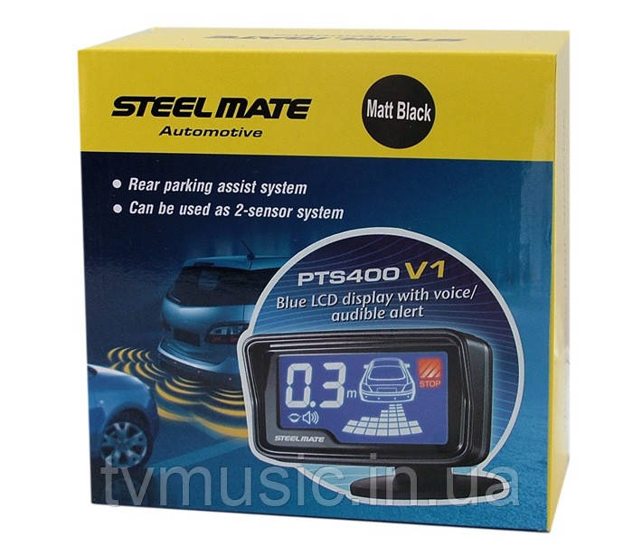 Парковочный радар Steelmate PTS400V1B black