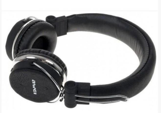Наушники беспроводные   Bluetooth наушники   Наушники Awei MDR A700BL + BT