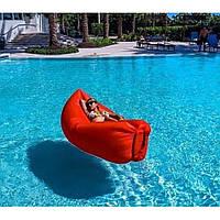 Надувной матрас гамак Lamzak шезлонг Надувной диван Надувное кресло Красный воздушный Мешок (962895268AV)