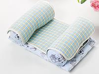 Детская подушка для сна SUNROZ Baby Pillow Shape позиционер для новорожденного ребенка Голубой (SUN6764)