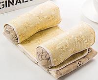 Детская подушка для сна SUNROZ Baby Pillow Shape позиционер для новорожденного ребенка Желтый (SUN6765)