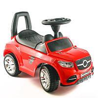 Детская машинка каталка Color Plast Красный Толокар с багажником (CP 2-001-TВ)