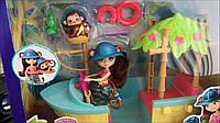 Набор  Энчантималс с лодкой и обезьянкой Enchantimals Junglewood Boat & Merit Monkey, фото 1