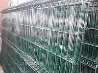 Секция ограждения длиной 2500 мм из сварной сетки 3D ЭКОНОМ цинк/полимер, 3/4 мм 1750
