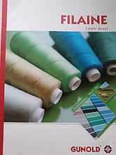 Нитки для вишивальних машин Filaine