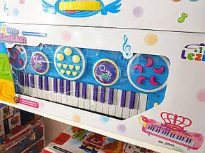 Игрушка детская синтезатор 3707A-8A 37 клавиш с микрофоном, фото 2