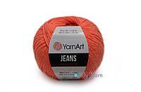 YarnArt Jeans, коралл №61