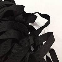 Лента репсовая 10мм цв черный (боб 50м) р.3248 Укр-з