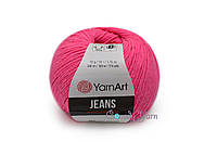 YarnArt Jeans, Розовый неон №59