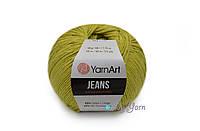 YarnArt Jeans, оливка №29