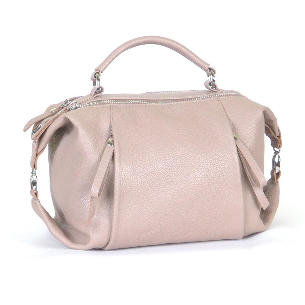 Женская кожаная сумочка 52 капучино флотар 01520109