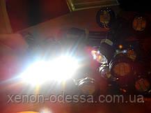 """Яркие DRL линзы """"Орлиный Глаз"""" LED EAGLE EYE 23мм (Белый+Желтый), фото 2"""