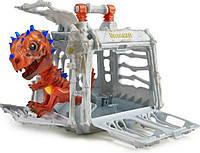 Динозавр с клеткой  интерактивный WowWee Fingerlings Untamed  jailbreak  Dinosaur Untamed Raptor Interactive