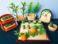 Игровой набор огород для ЛОЛ, флоксових животных, LPS, фото 1