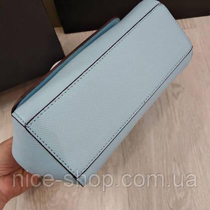 Сумка Dolce&Gabbana голубая, мини, фото 3