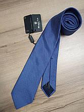 Краватка шовковий блакитний Massimo Dutti (Італія)